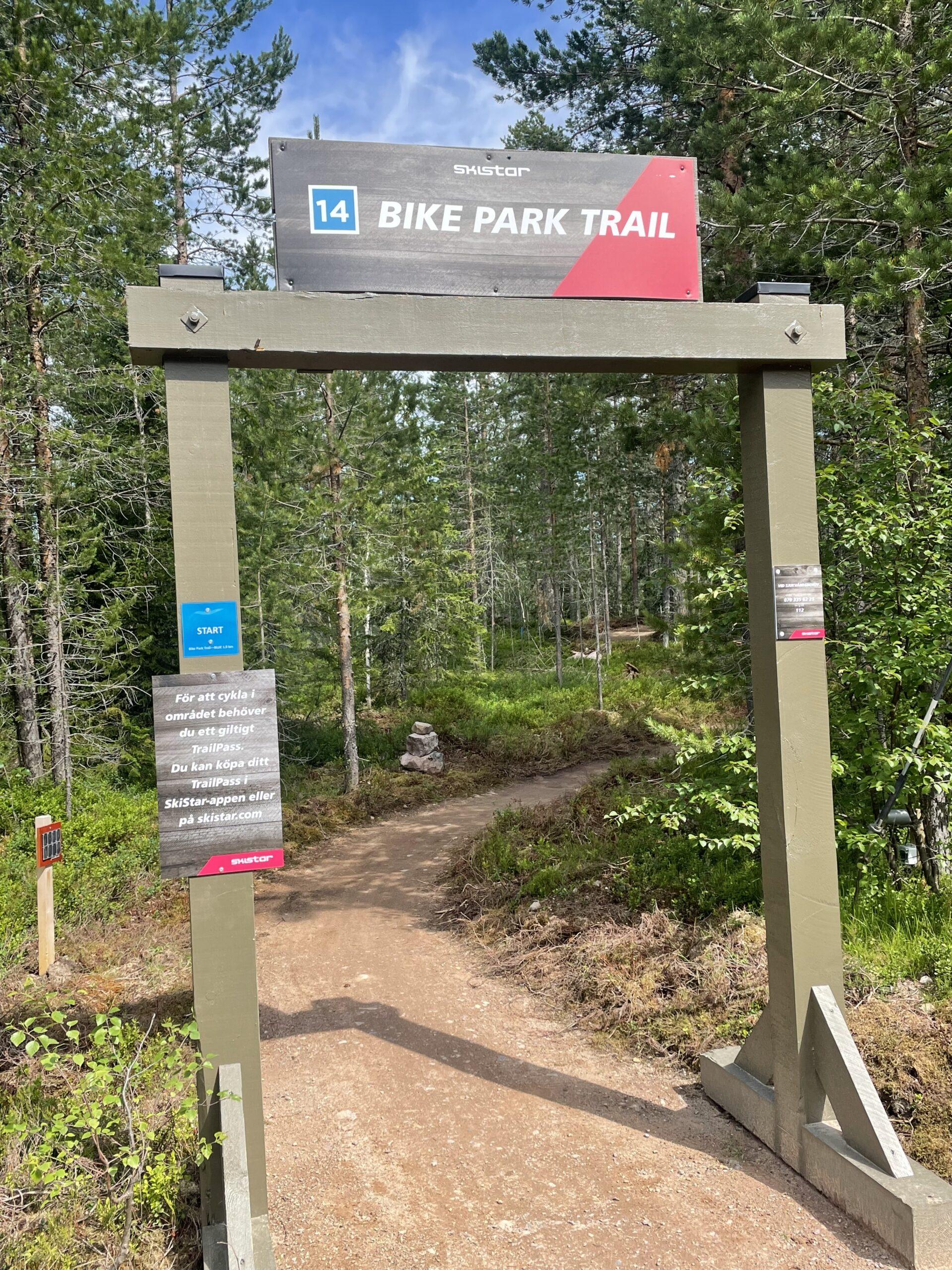 bike trail park